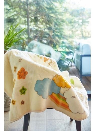 Arma Baby's Sarı Rainbow Polar Bebek Battaniyesi 90X90 Sarı